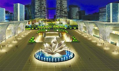 济南西站场站一体化工程年底投用 第A13版 泉城建设 20120503期高清图片
