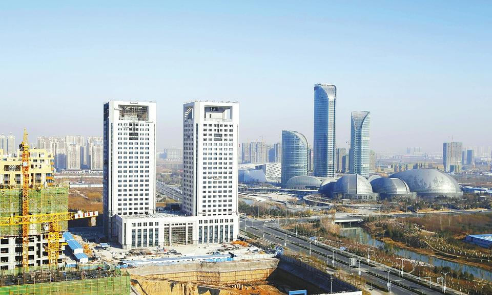 济南报业大厦双子塔