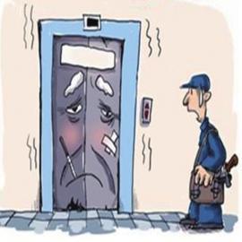 """您的电梯能享受到每15天一次的""""体检""""吗?"""