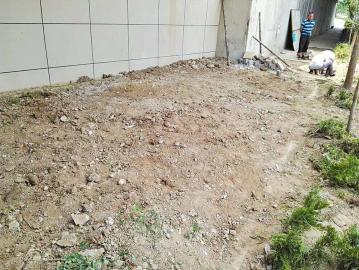 银丰上河坊商业街建筑垃圾已清运