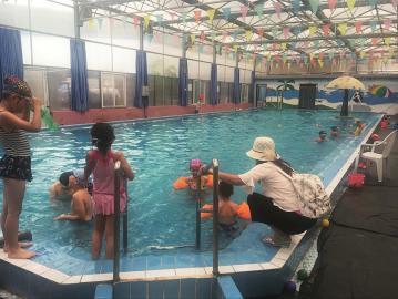 您去的游泳馆安全吗?干净吗?正规吗?放心吗?