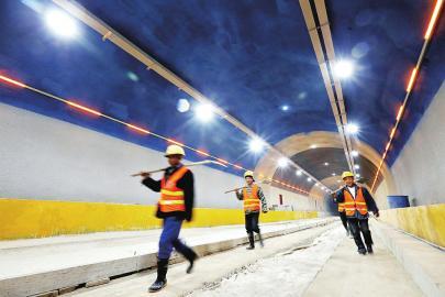 玉函路隧道年底通车再添快速通道