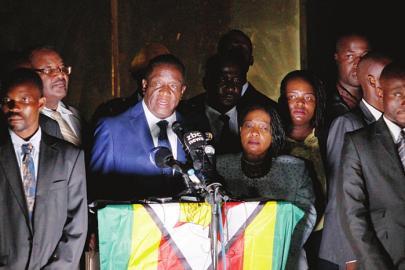 姆南加古瓦准备就任津巴布韦新任总统