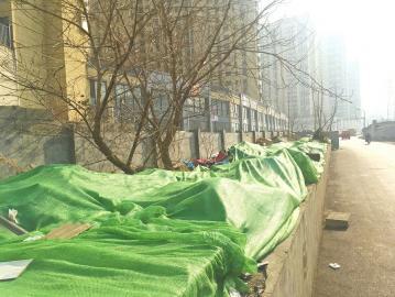 西十里河东街附近装修垃圾已被覆盖