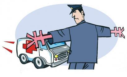 救护车上高速免费本不该有争议
