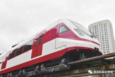 新型磁浮列车运行试验成功