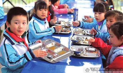 """我省将探索在校学生""""分段食谱"""""""