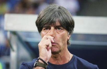 """德国队主教练勒夫: 我是败给了""""魔咒""""吗?"""