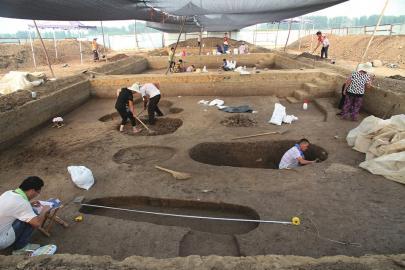 济南考古又现新成果!柳沟新村西南遗址发现隋代重要瓷器生产作坊
