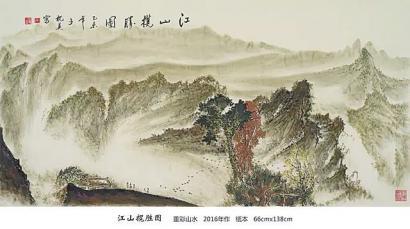 艺博会上有位诗人画家王枕美