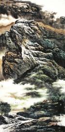 赏北派山水画的大气与诗意 中国孔子国画院院长杜中良作品将亮相