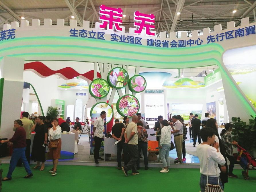 莱芜生姜、莱芜锡雕等产品受热捧 莱芜特产亮相山东文博会