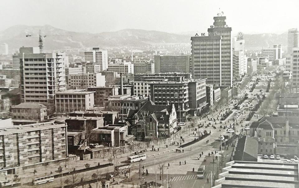 70年来不断变大、变高 老照片里的88百家乐现金网:历史文化名城的蝶变