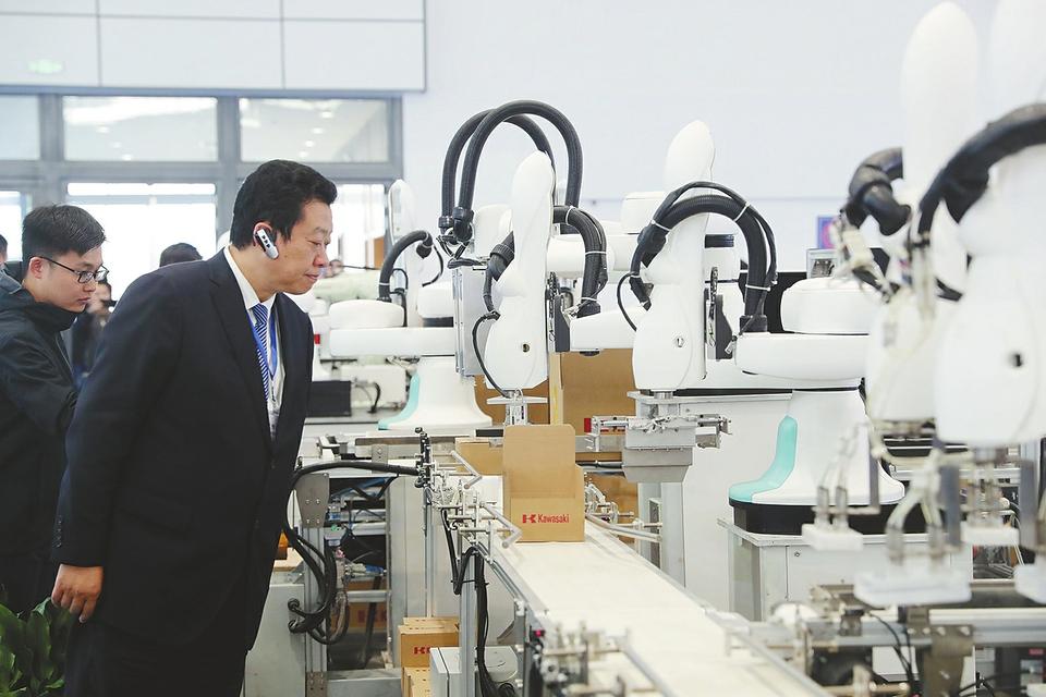 """【近者悦 远者来】顺应大势,济南机器人产业""""崛起成峰"""""""