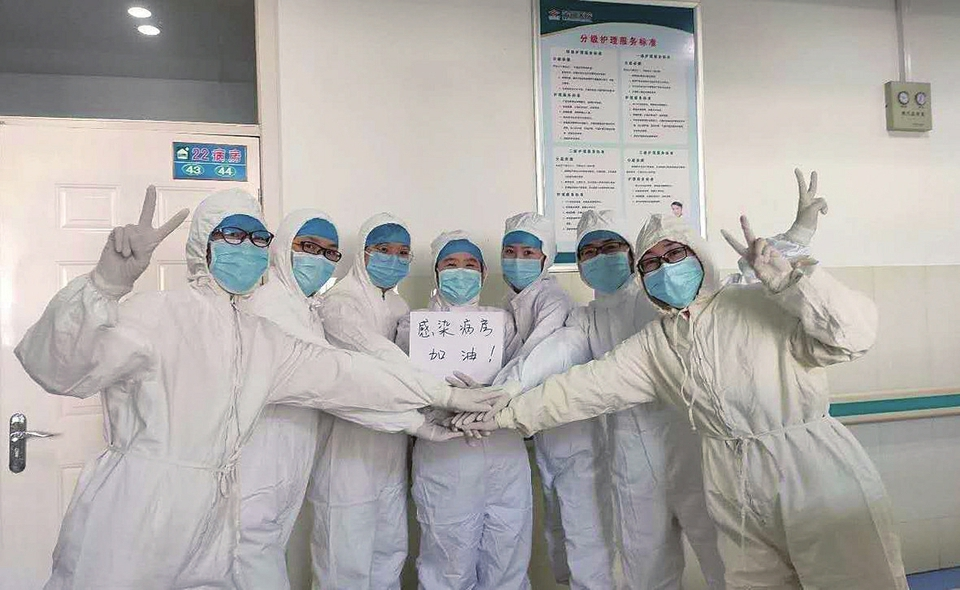 """我在另一个""""战场""""守望家乡 ——济南市一线医务人员抗击疫情纪实"""