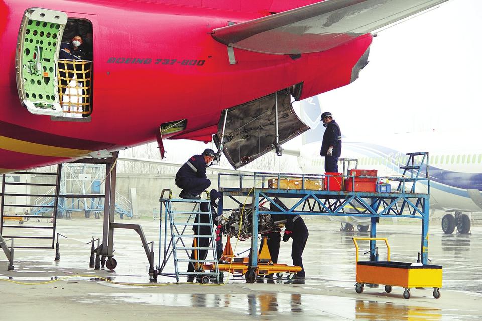 【企业复工复产 济南在行动】疫情期间淡季不淡 太古飞机大修订单稳中有升