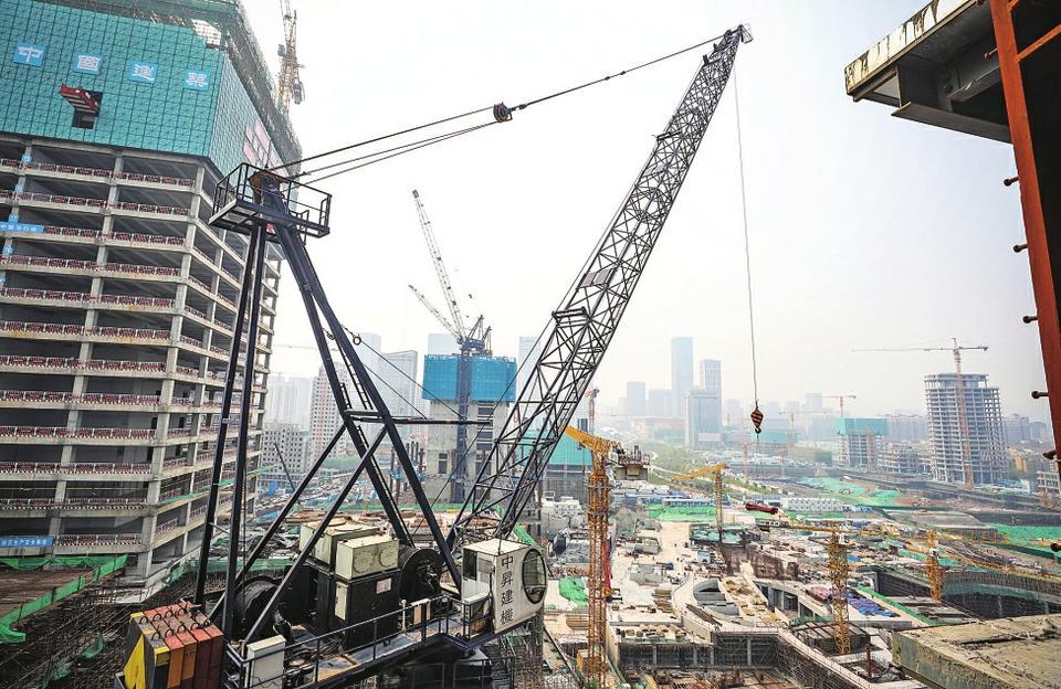 山东第一高建设开启加速键