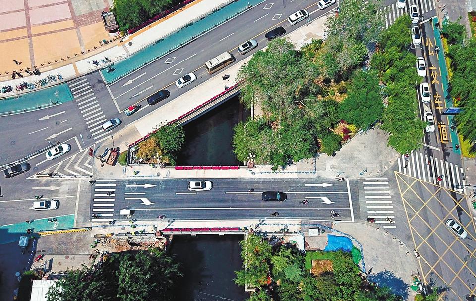 72小时紧张施工 济南南门桥东桥恢复通行