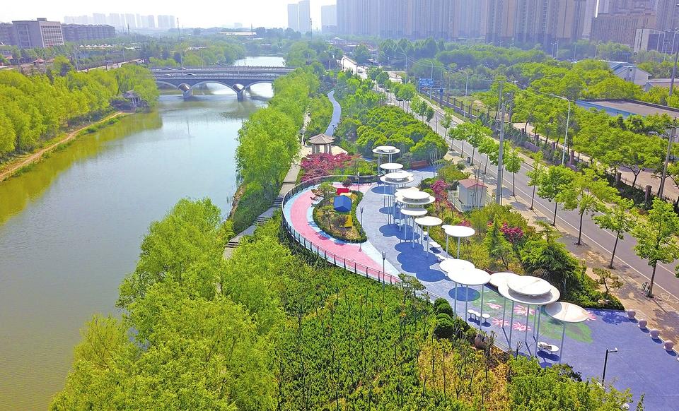 48公里小清河生态景观带正式亮相 不负春光小清河让人留恋让人醉