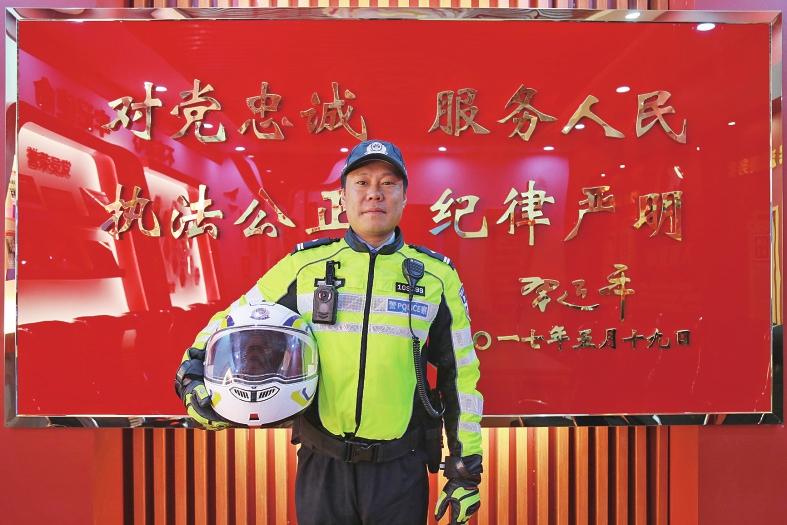 """济南交警探索具有""""济南特色、时代特征""""的济南铁骑新模式"""