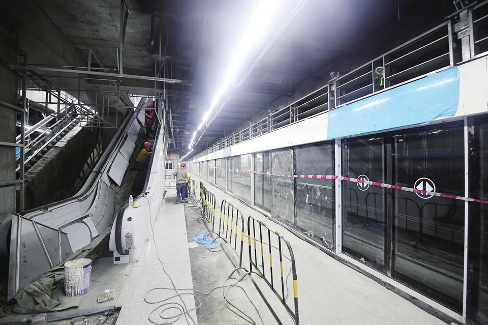 【决战决胜 全力攻坚】济南轨道交通最大换乘站总体完工超八成
