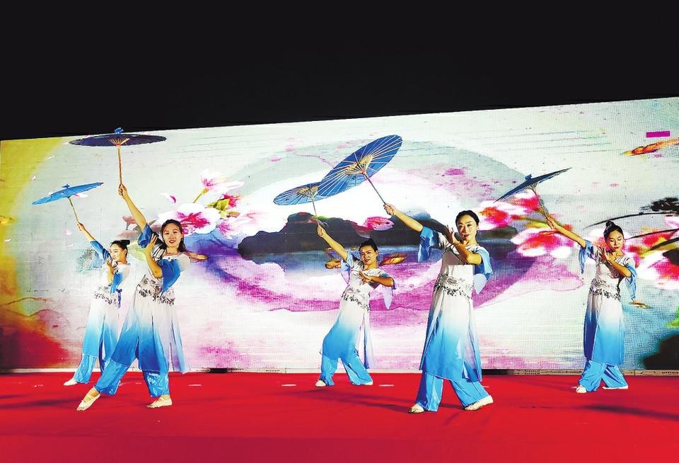 中国鲁菜美食文化节雪野分会场活动举行