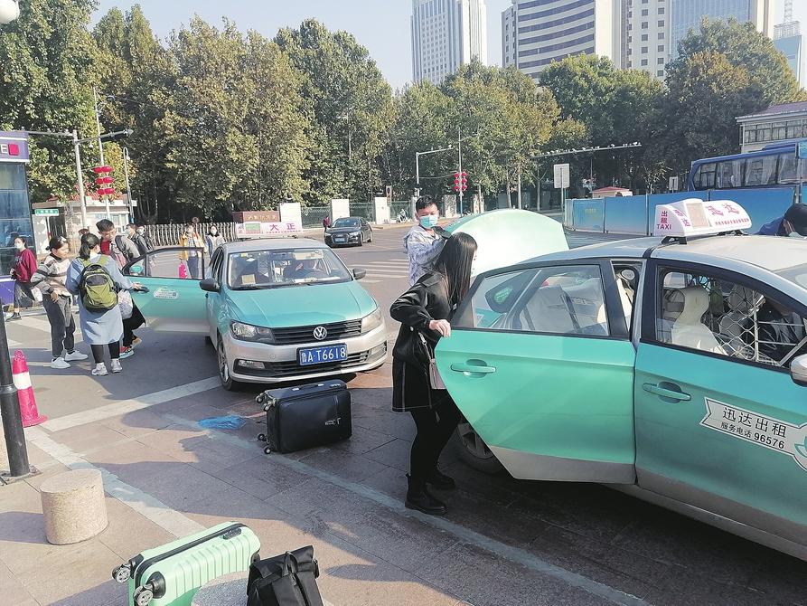 专为巡游出租车提供服务成了金字招牌 济南出租车行业加速引进嘀嗒出行