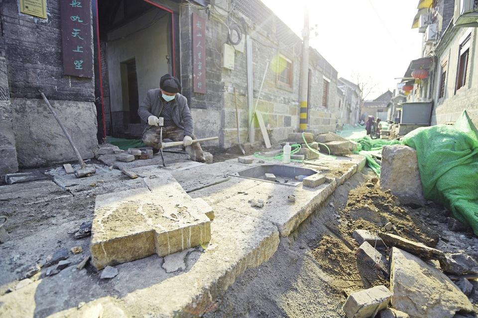 济南老城区将再添青石板街