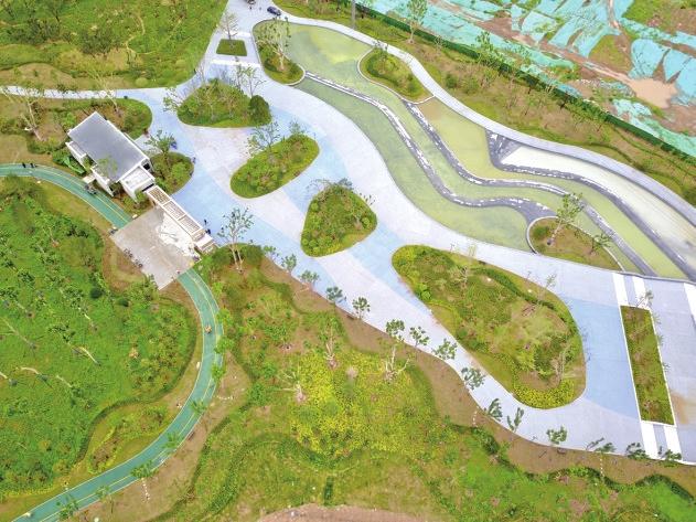 济钢中央森林公园正式免费开放