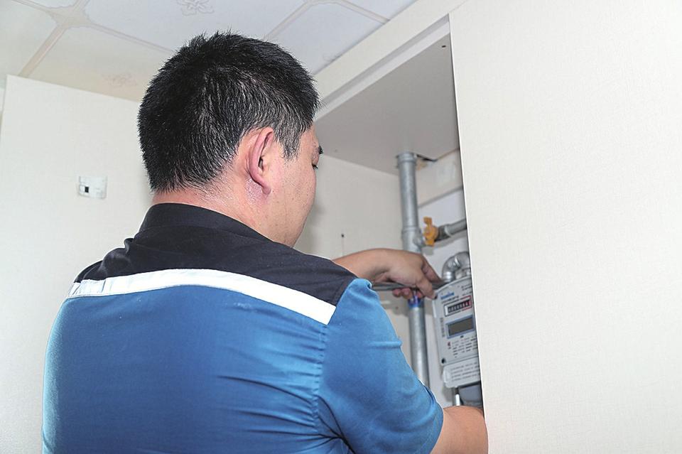 让智慧燃气进家入户 济南港华燃气免费更换智能燃气表,年内完成10万户民用表具升级