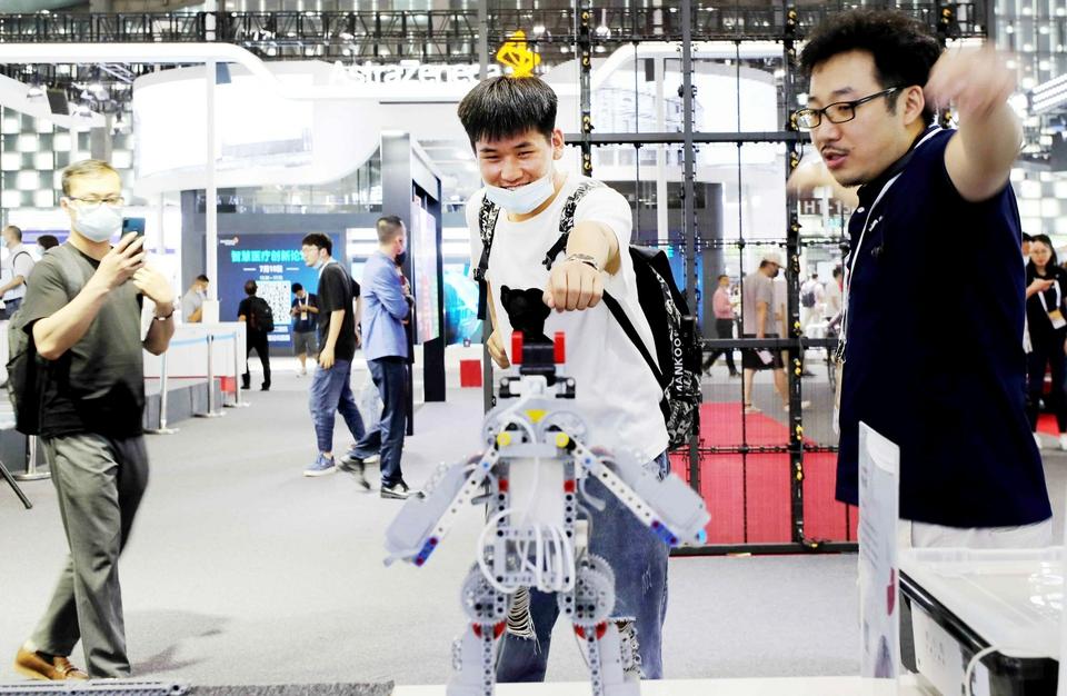 """数据智能、商业AI、可信AI…… 世界人工智能大会探""""风向"""""""